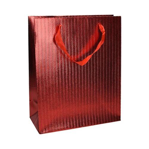 Dísztasak Eco Classic Plus L 26x32x12 elegáns vörös