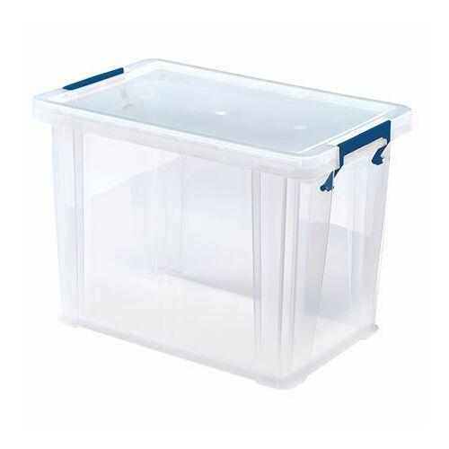 """Műanyag tároló doboz, átlátszó, 18,5 liter, FELLOWES, """"ProStore™"""""""