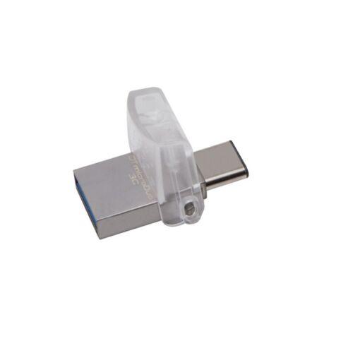 Kingston 32GB microUSB3.1 C/USB3.1 A Ezüst (DTDUO3C/32GB) Flash Drive