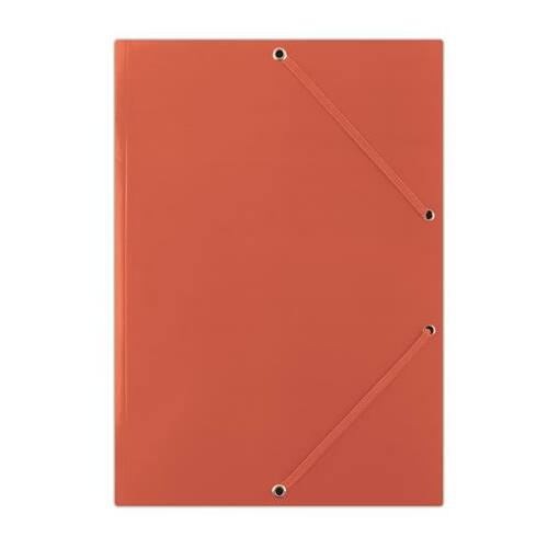 "Gumis mappa, karton, A4, DONAU ""Standard"", piros"