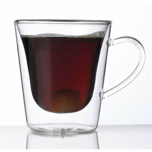 """Kávés-teás bögre, duplafalú üveg, 29,5cl, 2db-os szett, """"Thermo"""""""