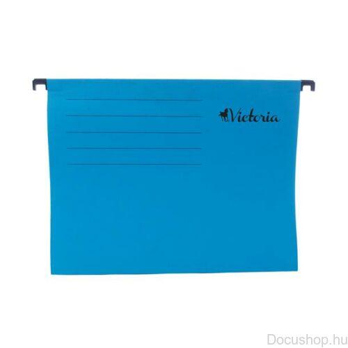 Függőmappa, karton, A4, VICTORIA, kék (25db/csom)