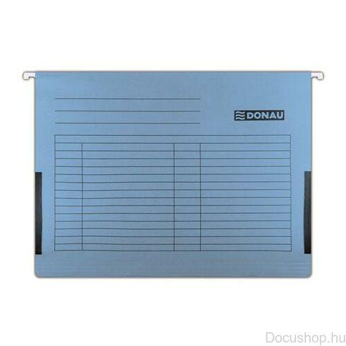 Függőmappa, oldalvédelemmel, karton, A4, DONAU, kék (25db/csom)