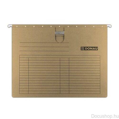 Függőmappa, gyorsfűzős, karton, A4, DONAU (25db/csom)