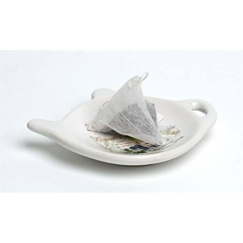 Teafilter tartó, levendula mintás, 10x9x2 cm