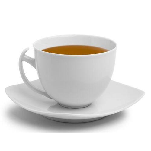 """Teáscsésze+alj,ROTBERG, fehér, 45cl, 4db-os szett, """"Quadrate"""""""