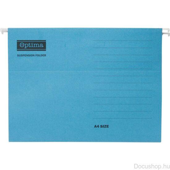 Függőmappa Optima A/4 kék (25db/csom)