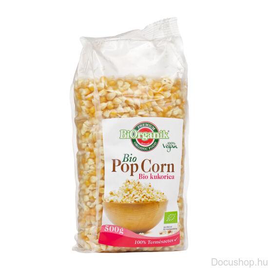 Bio popcorn - pattogatni való kukorica 500g BIORGANIK