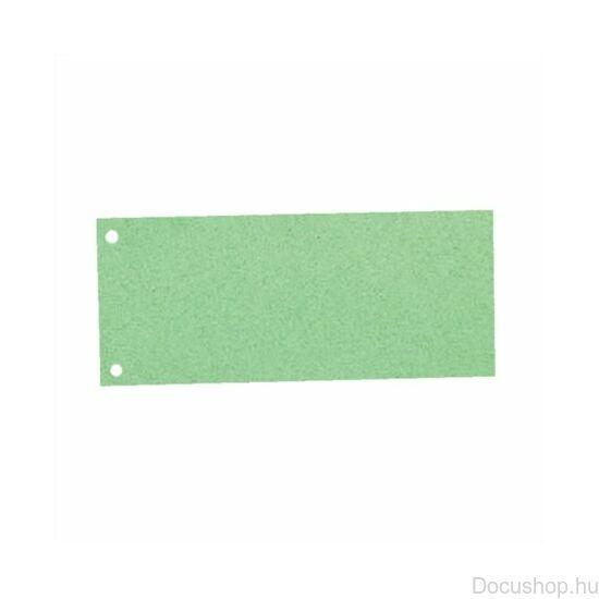 Elválasztócsík, karton, ESSELTE, zöld (100db/csom)