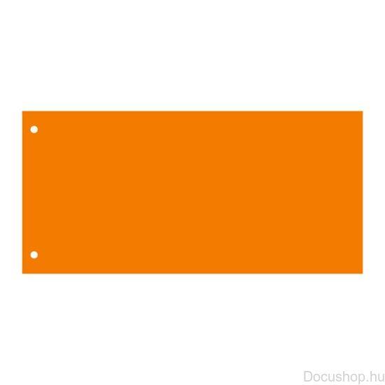 Elválasztócsík, karton, VICTORIA, narancssárga (50 db/csom)