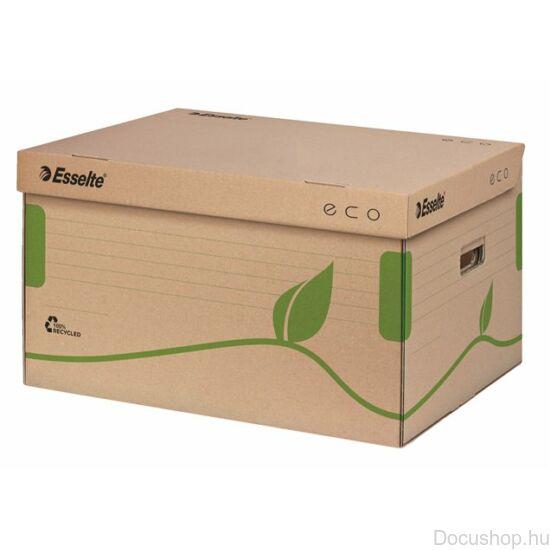 Újrahasznosított archiváló konténer karton felfelé nyíló ESSELTE